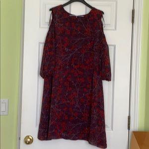 NWOT Gabby Skye cold shoulder dress Size 14